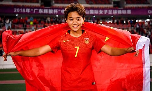 Vương là cầu thủ xuất sắc hai năm gần đây của Trung Quốc. Ảnh: Hupu.