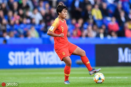 Vương là tuyểnthủ nữ duy nhất của Trung Quốc đang chơi bóng tại nước ngoài.