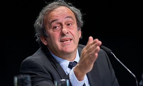 Platini bị bắt không lâu sau khi mãn hạn cấm hoạt động bóng đá bốn năm. Ảnh: AFP.