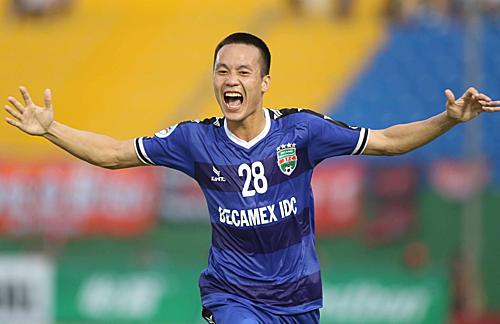 Tô Văn Vũ có phong độ cao ở AFC Cup năm nay và là niềm hy vọng của Bình Dương ở trận đấu này.