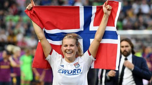 Hegerberg tẩy chay tuyển Na Uy suốt hai năm qua. Ảnh: RTE.