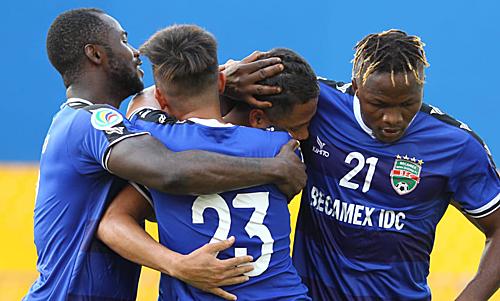 Bình Dương đánh bại đại diện Indonesia để mở toang cánh cửa vào chung kết.Ảnh:AFC.