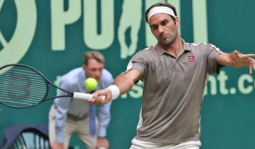 Federer đang hướng đến danh hiệu thứ 10 ở Halle.