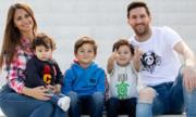 Vợ con sang Brazil cổ vũ cho Messi ở trận sinh tử với Qatar