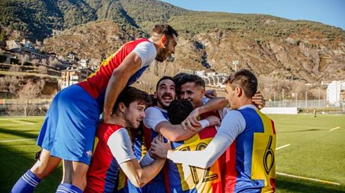 Andorra sẽ chơi ở hạng tư ở mùa giải 2019-2020. Ảnh: FCAndorra.