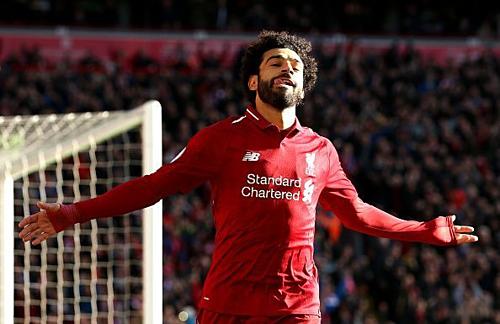 Mohamed Salah đang là cầu thủ châu Phi nổi tiếng bậc nhất thế giới. Ảnh:AFP.