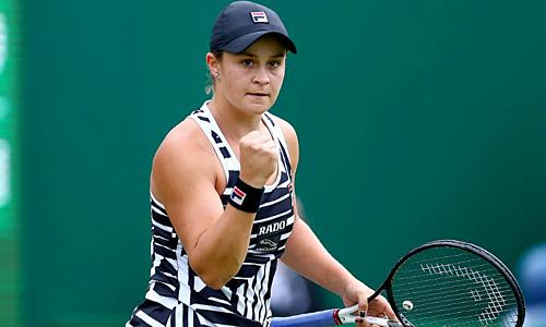 Barty - nhà vô địch đơn nữ Roland Garros 2019 - đang có chuỗi 12 chiến thắng liên tiếp. Ảnh: AAP.