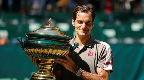 Federer giành danh hiệu thứ 102 ở ATP.