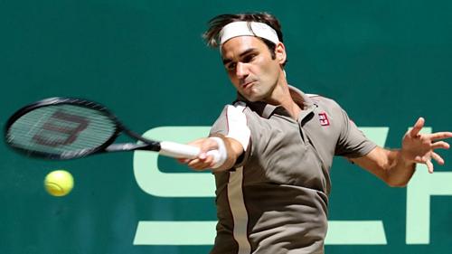 Federer đang có sự chuẩn bị đầy hứa hẹn trước thềm Wimbledon.