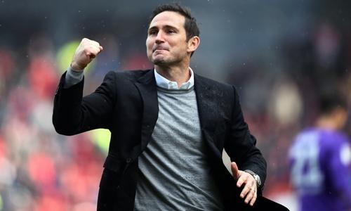 Lampard sắp trở thành tân HLV của Chelsea. Ảnh: PA.