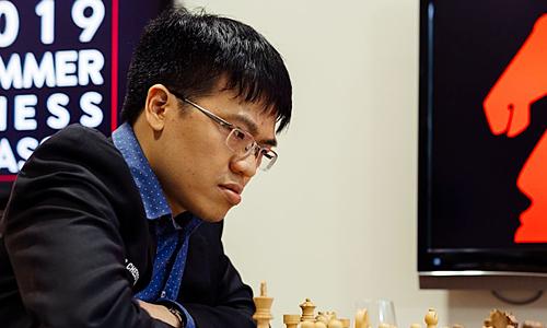 Quang Liêm thi đấu ở giải cờ mời có Elo trung bình của các kỳ thủ tham dựgần 2.700.