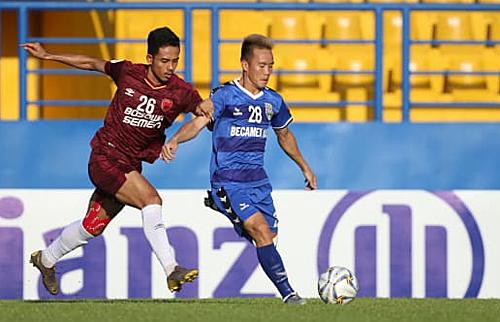 Bình Dương và Hà Nội muốn lên ngôi AFC Cup phải đá thêm bảy trậnvới nhiều đối thủ hàng đầu các khu vực và châu lục.Ảnh:AFC.