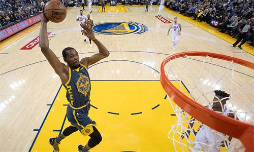 Durant là trụ cột của Warriors hai năm liền vô địch (2017, 2018) và vào chung kết NBA mùa vừa qua.