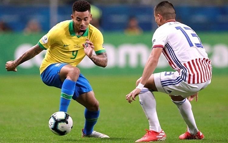 Các tiền đạo Brazil có một trận đấu đáng thất vọng. Ảnh: AFP.