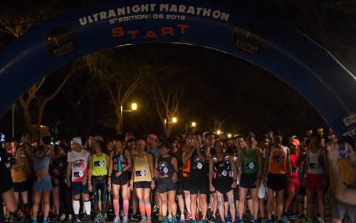 Là sự kiện của một nhóm chạy, nhưng RFF Ultra Night Marathon có sức hút lớn và quy tụ nhiều runner có tiếng trong làng chạy bộ phía Nam. Ảnh: RFF.