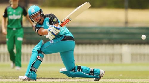 Barty trong màu áo đội cricket Brisbane Heat. Ảnh: SMH.