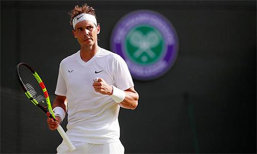 Nadal có 26 winner và mắc 24 lỗi tự đánh hỏng cả trận. Ảnh: AP.