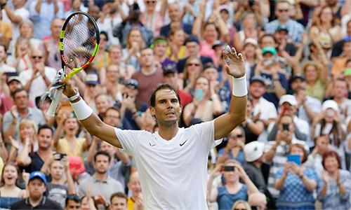 Nadal thắng bốn và thua ba sau bảy lần đối đầu Kyrgios. Ảnh: AP.