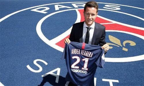Ander Herrera có một khởi đầu mới sau giai đoạn u ám tại Man Utd. Ảnh: Reuters