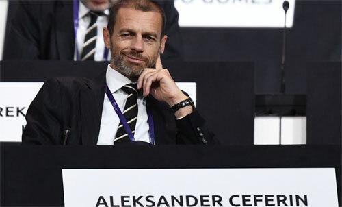 Ceferin muốn giải đấu danh giá nhất châu Âu thêm khốc liệt. Ảnh: Reuters