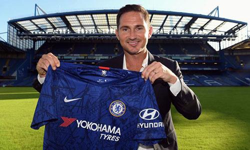 Lampard ra mắt Chelsea dưới tư cách HLV hôm 4/7. Ảnh: PA.