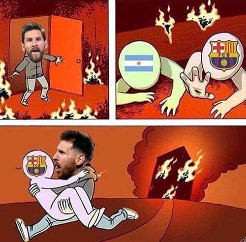 Messi bị chế giễu sau trận thua của Argentina - 1