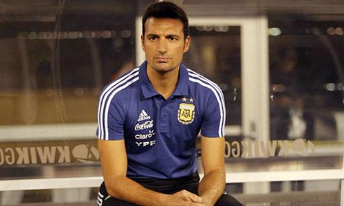 Scaloni làm HLV tuyển Argentina từ tháng 11/2018. Ảnh: Reuters.