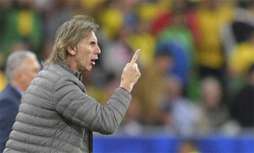 Gareca không tin bóng đá Nam Mỹ có tiêu cực. Ảnh: Ole