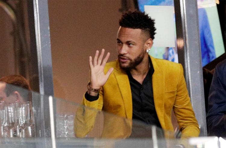 Neymar có mặt tại Maracana, dự khán trận chung kết Copa America hôm 7/7, nhưng không trả phép đúng hạn tại PSG hôm qua 8/7. Ảnh: Reuters.