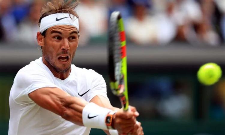 Nadal (ảnh) có thể gặp đồng hương Bautista Agut ở chung kết, nếu họ lần lượt hạ Federer và Djokovic. Ảnh: FOX Sports.