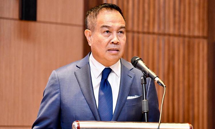 Ông Somyot lo Thái Lan mất quyền đăng cai VCK U23 châu Á. Ảnh: BKP.