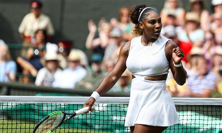 Serena vào chung kết Wimbledon với phong độ huỷ diệt.