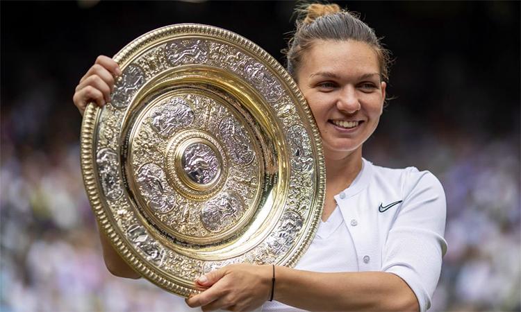 Wimbledon là danh hiệu Grand Slam thứ hai của Halep, sau chức vô địch Roland Garros năm ngoái.