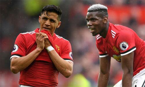 Sanchez và Pogba đều có đẳng cấp cao nhưng không hợp với Man Utd. Ảnh: Reuters