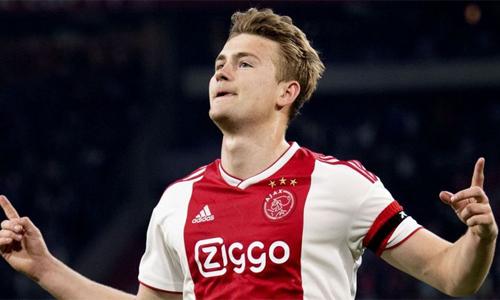 De Ligt được cho là sẽ kiểm tra y tế tại Juventus vào tối 16/7. Ảnh: AFP.