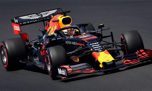 Thành tích tốt nhất của Red Bull sau tám chặng đua mùa này là vị trí thứ ba. Ảnh: Motosport.