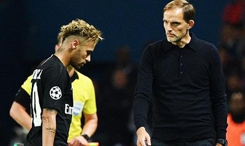 Tuchel biết ý định ra đi của Neymar từ đầu tháng 6. Ảnh: AFP.