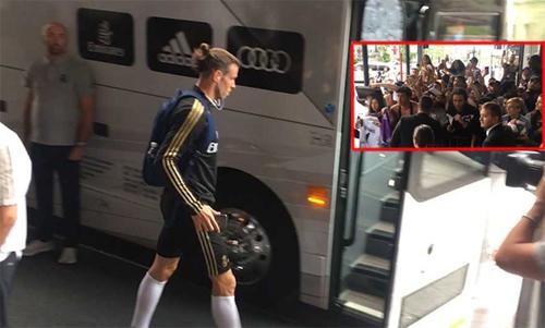 Bale đang trở thành người thừa tại Real Madrid.