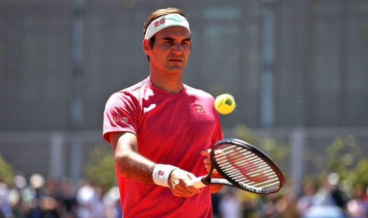 Để tiếp tục thi đấu đỉnh cao, Federer cần chế độ nghỉ ngơi và tập luyện khoa học để duy trì thể lực hoàn hảo như đã thể hiện ở Wimbledon. Ảnh: Express.