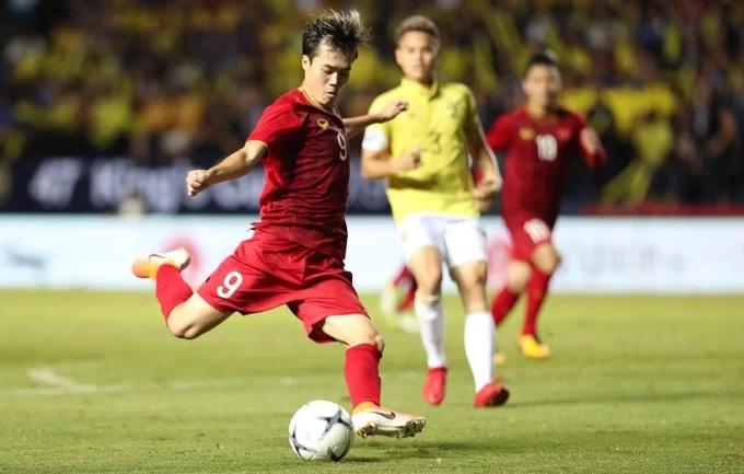 Việt Nam (áo đỏ) từng thắng Thái Lan 1-0 ở Kings Cup đầu tháng 6/2019. Ảnh: Đức Đồng.