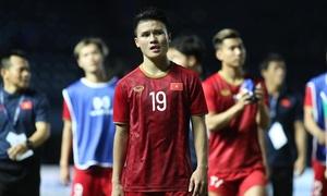 Việt Nam ít thành tích nhất bảng G vòng loại World Cup 2022