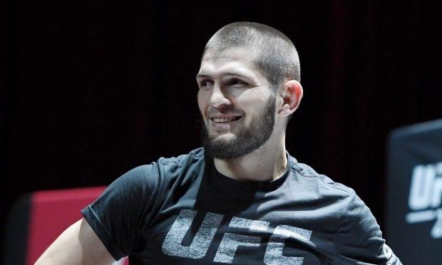 Khabib hiện là nhà vô địch hạng lightweight của UFC.