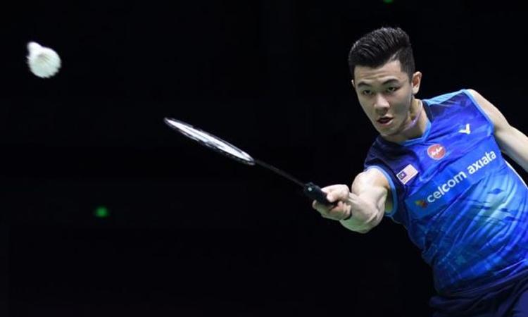 Thắng lợi trước nhà ĐKVĐ Olympic giúp Lee vào tứ kết, gặp tay vợt Đan Mạch Ander Antonsen hôm nay 19/7. Ảnh: The Star.