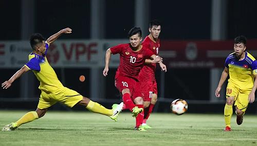 Martin Lo tiếp tục được HLV Park Hang-seo triệu tập lên U23 Việt Nam.