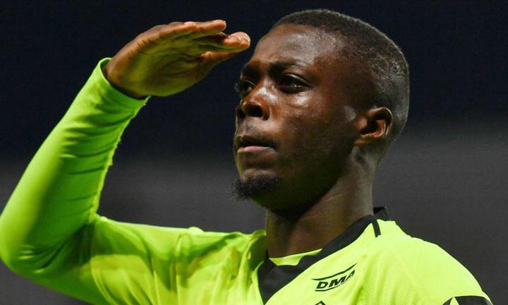 Pepe ghi nhiều bàn thứ nhì ở Ligue 1 mùa 2018-2019, chỉ sau Mbappe. Ảnh: AFP.