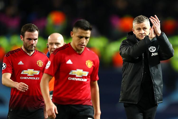 Man Utd được dự đoán nằm ngoài top 4 mùa thứ hai liên tiếp. Ảnh:AFP.
