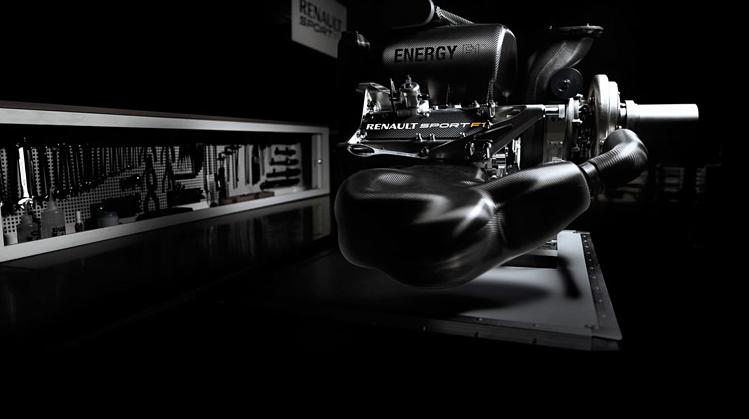 Động cơ được cho là 1.000 mã lực của Renault. Ảnh: AMUS.