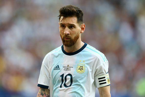 Messi bị cấm thi đấu quốc tế ba tháng vì nói xấu Conmebol. Ảnh: AFP.