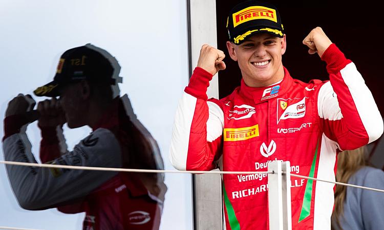 Trước khi về nhất ở F2 Hungary, Mick Schumacher có thành tích tốt nhất là vị trí thứ tư tại F2 Áo. Ảnh: Guardian.