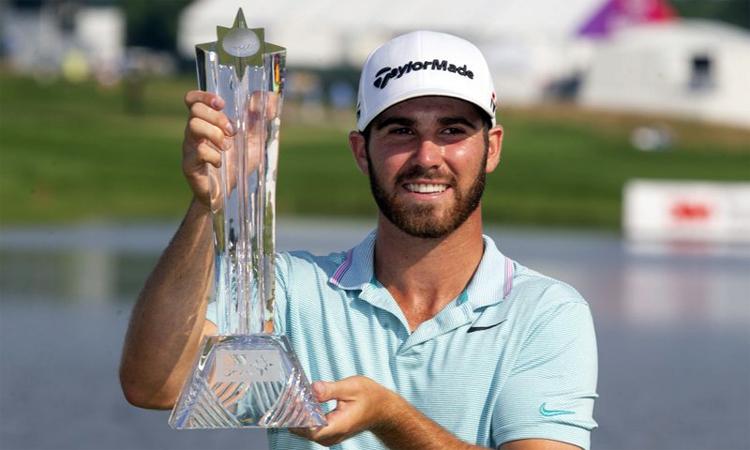 Wolff thi đấu xuất thần tại giải đấu ở Minnesota, Mỹ để lần đầu vô địch PGA Tour. Ảnh: AP.
